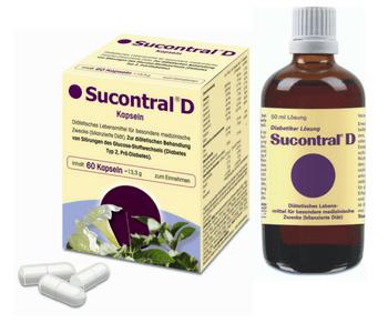 Produktabbildung Sucontral D Kapseln und Lösung