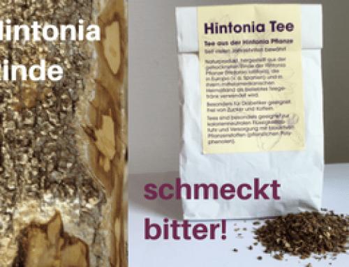 Warum ist der Hintonia-Extrakt vorteilhafter als Hintonia-Rinden-Tee?