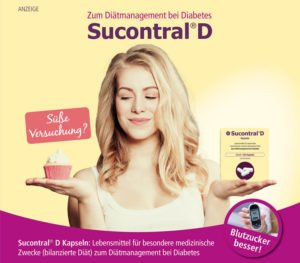Sucontral D zum Diätmanagement bei Diabetes